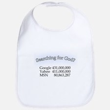 Searching For God Bib