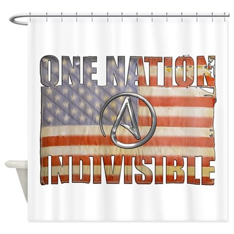 One Nation Indivisible Shower Curtain
