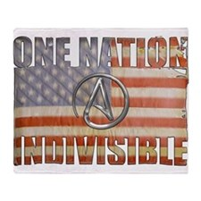 One Nation Indivisible Throw Blanket