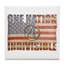 One Nation Indivisible Tile Coaster