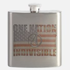 One Nation Indivisible Flask