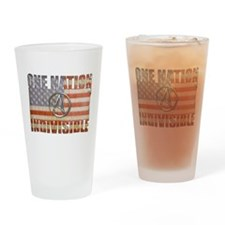 One Nation Indivisible Drinking Glass