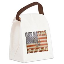 One Nation Indivisible Canvas Lunch Bag