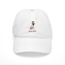 Pug Christmas Baseball Cap