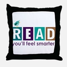 Read Quote Throw Pillow