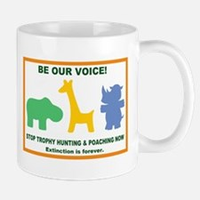 Be our voice! mug