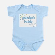 Grandpa's Buddy Star Pilot Infant Creeper