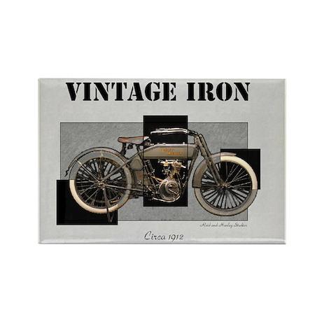 1912 Vintage Iron Rectangle Magnet