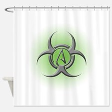 Toxic Atheist Shower Curtain