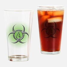 Toxic Atheist Drinking Glass