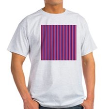 vertical 3-tone T-Shirt