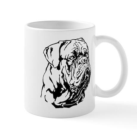 Dogue De Bordeaux. Mug