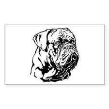 Dogue De Bordeaux. Decal