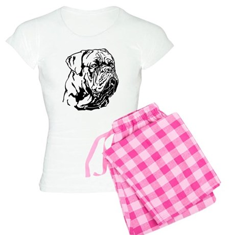 Dogue De Bordeaux. Women's Light Pajamas