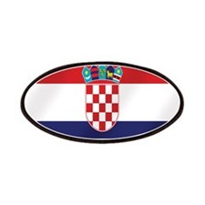 Croatian National Flag Patches