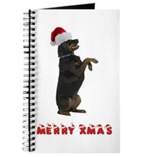 Rottweiler Christmas Journal