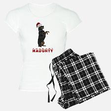 Naughty Rottweiler Pajamas