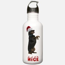 Nice Rottweiler Water Bottle