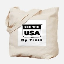 See The USA By Train ! Tote Bag
