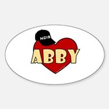 NCIS Abby Sticker (Oval)