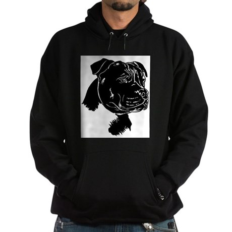 Staffordshire Bull Terrier Hoodie (dark)