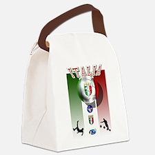 Italia Italian Football Canvas Lunch Bag