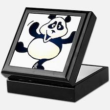 Dancing panda Keepsake Box
