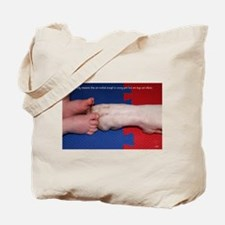 Pitter Patter Paws Tote Bag