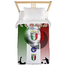 Italia Italian Football Twin Duvet
