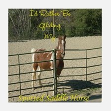 Spotted Saddle Horse Tile Coaster