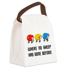 Where no Sheep Has Gone Canvas Lunch Bag
