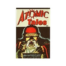 Atomic Tales #1 Rectangle Magnet