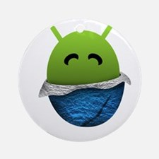 Official Android Unwrapped Gear Ornament (Round)
