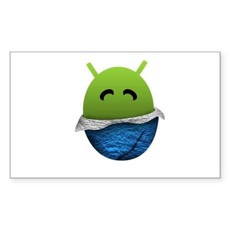 Official Android Unwrapped Gear Sticker (Rectangle
