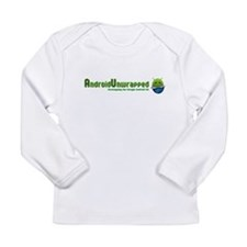 Android Unwrapped Long Sleeve Infant T-Shirt