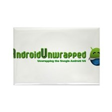 Android Unwrapped Rectangle Magnet