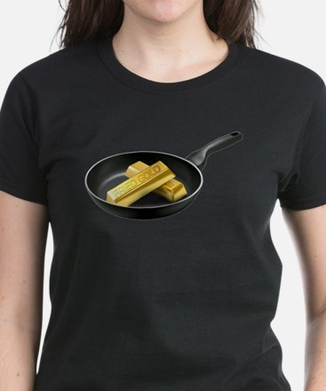 Fried Gold Women's Dark T-Shirt