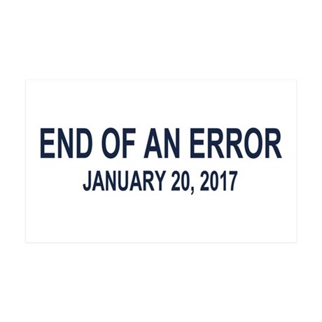 End of an Error 35x21 Wall Decal