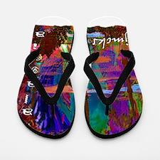malaysia art illustration Flip Flops