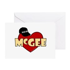 NCIS McGee Greeting Card