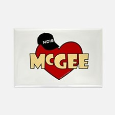 NCIS McGee Rectangle Magnet