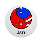 Tate Ornament (Round)