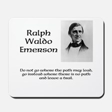 Ralph Waldo Emerson Mousepad