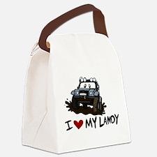 Cute Mg rover Canvas Lunch Bag