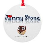 Jiimmy Stone Round Ornament