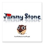 Jiimmy Stone Square Car Magnet 3