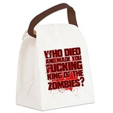 King of the Zombies Canvas Lunch Bag