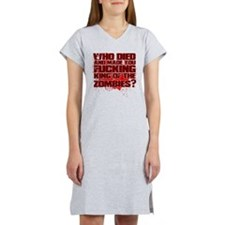 King of the Zombies Women's Nightshirt