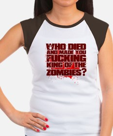 King of the Zombies Women's Cap Sleeve T-Shirt