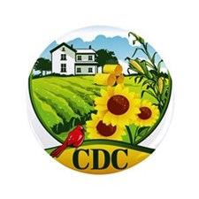 """CDC Farms 3.5"""" Button (100 pack)"""